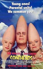 'The Coneheads' movie poster