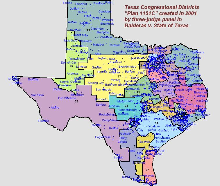 Federal Judge Releases Proposed Congressional District Map For - Us house district 13 map