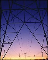 Transmission tower & lines